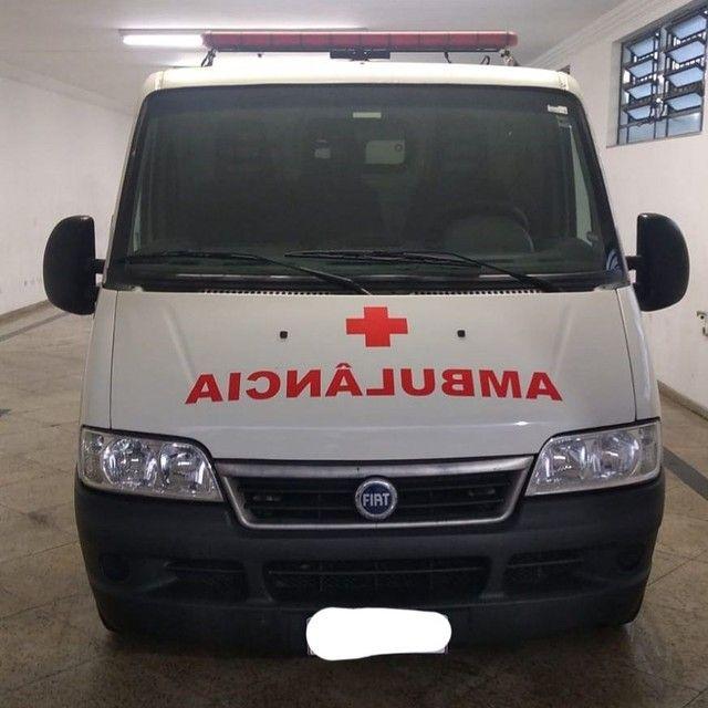 Fiat Ducato Ambulância Remoção