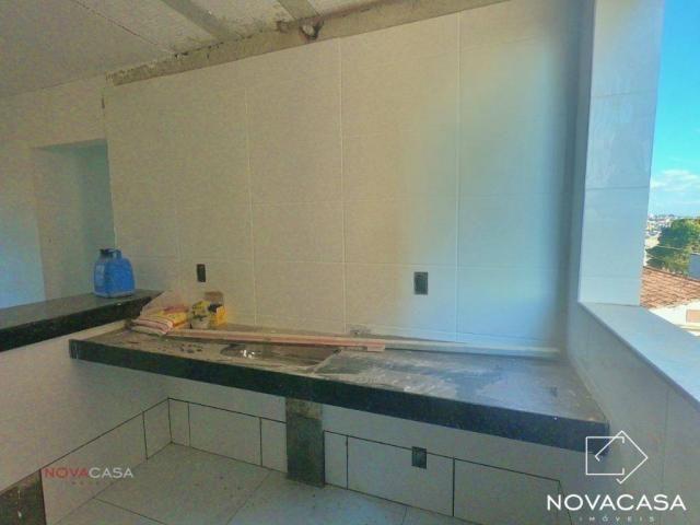 Apartamento com 3 dormitórios à venda, 60 m² por R$ 240.000,00 - Mantiqueira - Belo Horizo - Foto 3