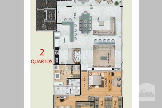 Apartamento à venda com 4 dormitórios em Santa lúcia, Belo horizonte cod:265827 - Foto 9
