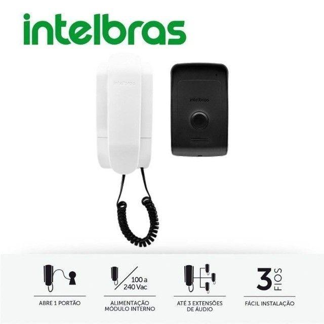 Porteiro Residencial IPR 1010, intelbras, IPR1010, Preto/Branco