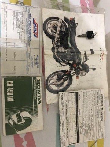 Moto Honda Cb 450 Dx ano 1994 - Foto 9
