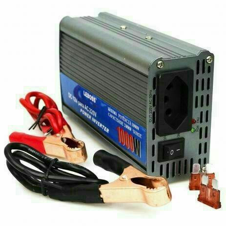 Inversor Veicular de Potência 12v para 110V Leboss - Foto 2