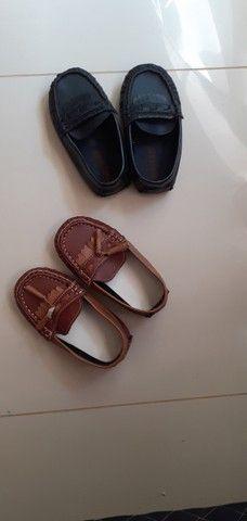 Lote de roupas e calçados menino 2 anos  - Foto 4