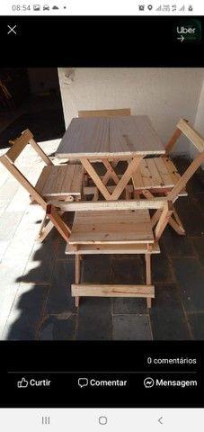 Mesas e cadeiras dobráveis  - Foto 2