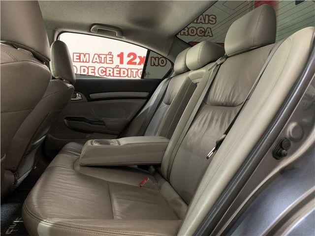 Honda Civic 2014 2.0 exr 16v flex 4p automático - Foto 10