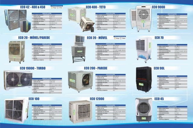 Climatizadores Evaporativos Ecofree