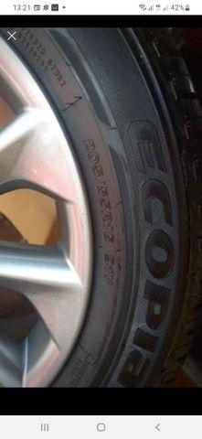 Jogo de roda com os pneus zerado  - Foto 4
