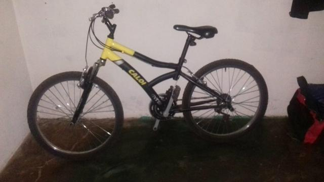 Vendo bike da caloi com Macha e amortecedor