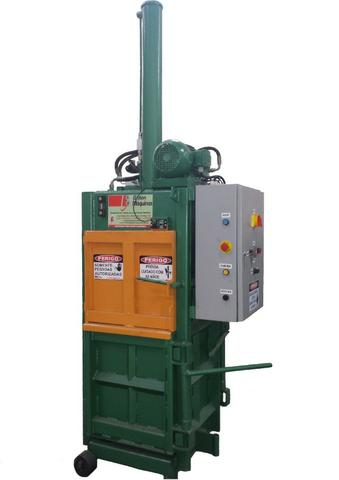 Prensa Hidráulica Vertical - Enfardadeira para fardos de resíduos para Reciclagem - Foto 2