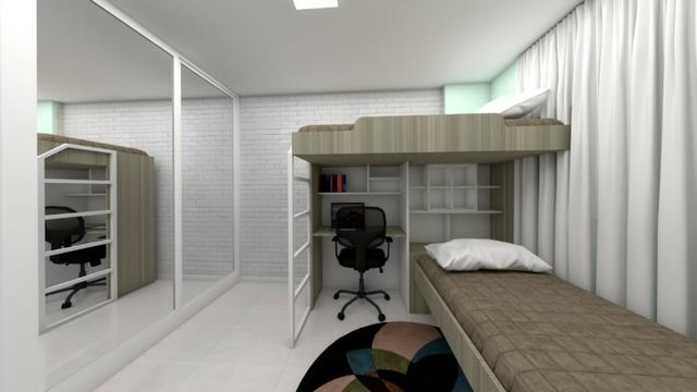 Apartamentos para alugar no Bairro Damas, 03 quartos opções de 01 e 02 vagas de garagem - Foto 9