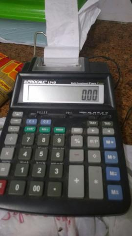 Vendo calculadora de mesa negociavel
