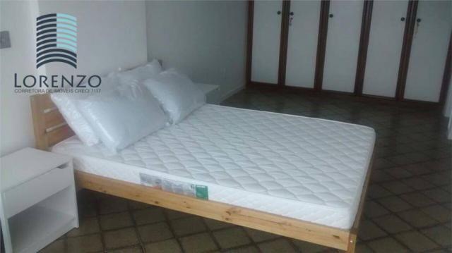 Ondina Apart - Apartamento com 3 dormitórios para alugar, 120 m² por R$ 3.024/mês - Ondina - Foto 7