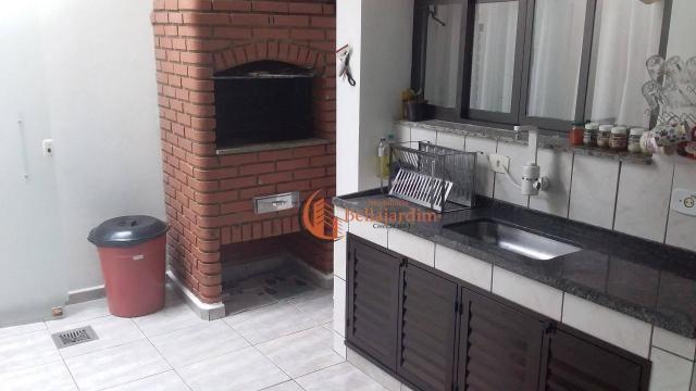 Sobrado com 3 dormitórios à venda, 166 m² por r$ 1.170.000,00 - jardim - santo andré/sp - Foto 4