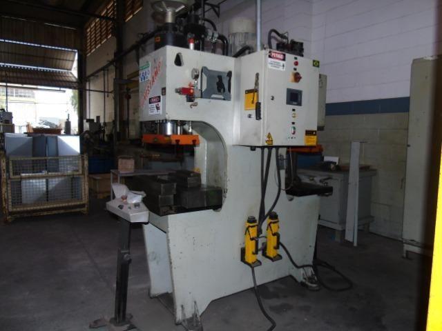 Prensa Hidráulica Tipo C Dupla 40 toneladas Unistamp