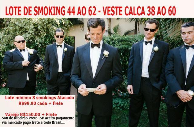 Lote 10 smokings Atacado 44 ao 62 - zap 16- *