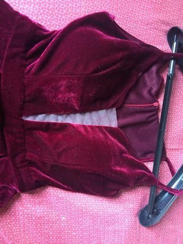 Vestido veludo marcá-la - Foto 2