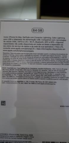 Vendo iPhone XS MAX de 64gb LACRADO - Foto 2