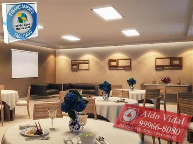 ARV55- Apartamento 01 Qrto P.N.E + E.L.E.V.A.D.O.R + Entrada Facilitada.
