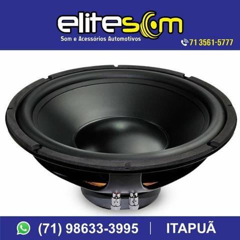 Subwoofer Nar Áudio, 200 Wrms, 10pol. instalado na Elite Som - Foto 3