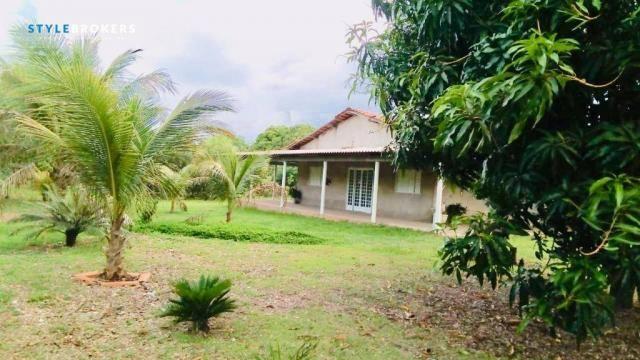 Chácara na Beira de Rio com 4 dormitórios à venda, 3600 m² por R$ 260.000 - Zona Rural - S - Foto 19