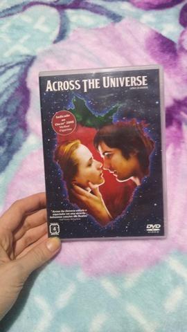 DVD Across de universe e/ou Marley e eu. R$ 9,00 cada um