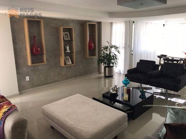 Apartamento com 3 dormitórios à venda, 235 m² por R$ 670.000 - Tirol - Natal/RN - Foto 11