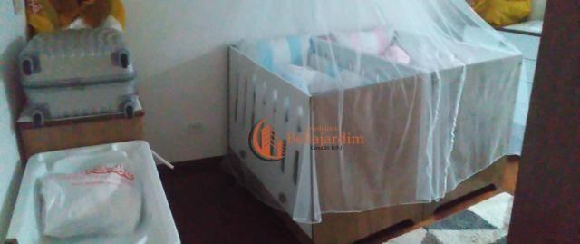 Sobrado com 3 dormitórios à venda, 166 m² por r$ 1.170.000,00 - jardim - santo andré/sp - Foto 10