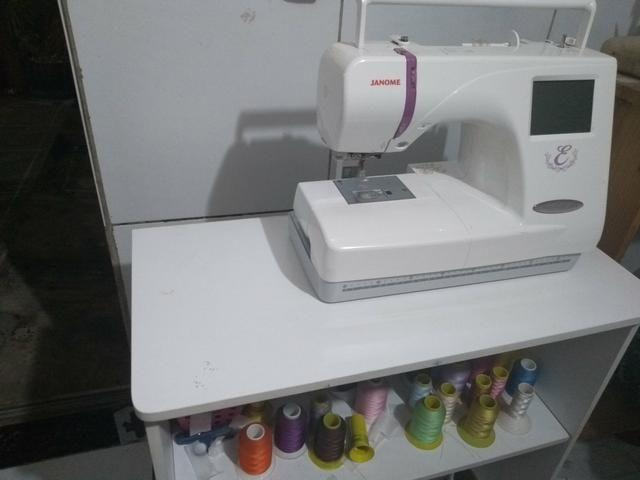 Máquina para bordar janome - Foto 2