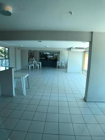 Apartamento com 2 dormitórios para alugar, 57 m² por R$ 1.600/mês - Tirol - Natal/RN - Foto 12