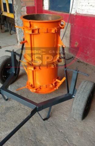 Conjunto vibratório para fabricar tubos manilhas de concreto - Foto 5