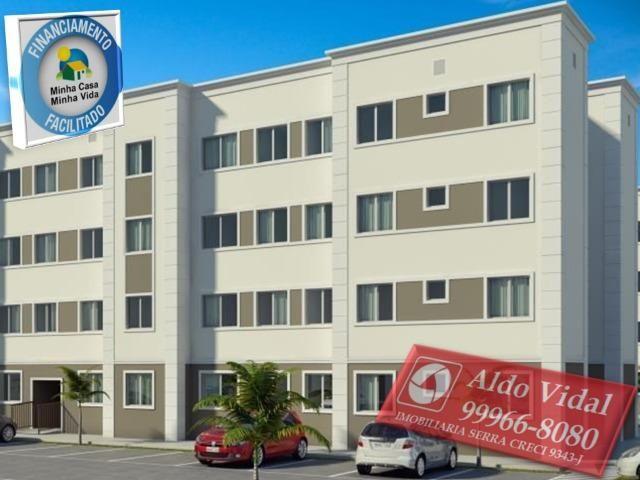 ARV53- Apartamentos 2 quartos Próximo as Praias da Serra - ES - Foto 7