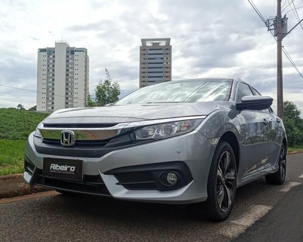 Honda Civic EXL 2018 garantia de fábrica até 2021