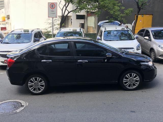 Honda City EX 1.5 aut. 2013 , Preto - Foto 3