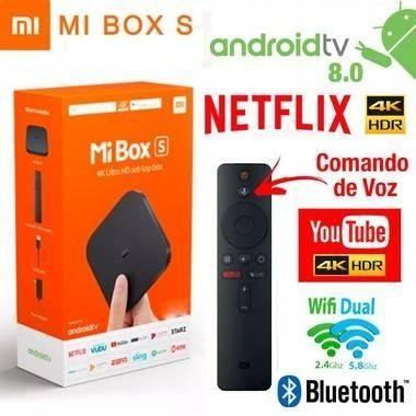 Vendo. TV Box Xiaomi Mi Box S 4k