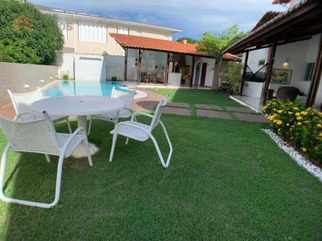 Casa com 3 dormitórios para alugar, 450 m² por R$ 8.000/mês - Candelária - Natal/RN - Foto 3