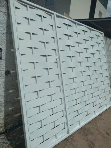 Promoção de portão galvanizado aparti 500