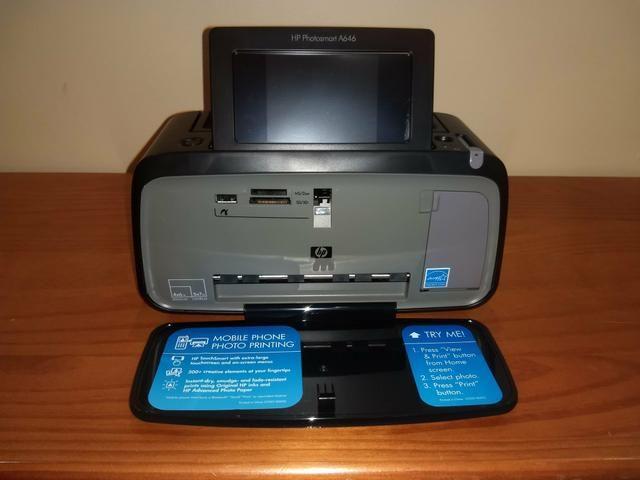 Impressora de Fotos HP Photosmart A646