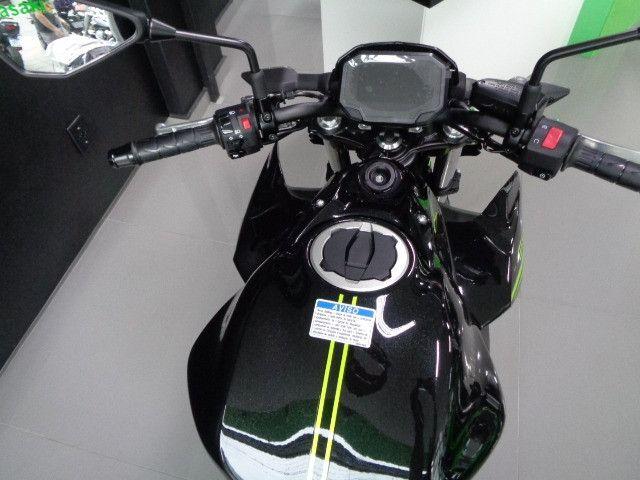 Kawasaki Z 650 ABS Preta 2021 - Foto 6