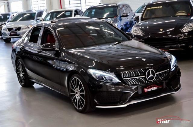 Mercedes C 450 C450AMG4M 367HP TETO 36 MIL KM 4P - Foto 3