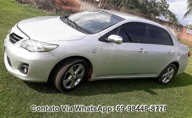 Toyota Corolla GLI Flex Ano 2012 Motor 1.8 Completo - Foto 2