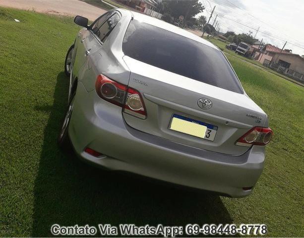 Toyota Corolla GLI Flex Ano 2012 Motor 1.8 Completo - Foto 4