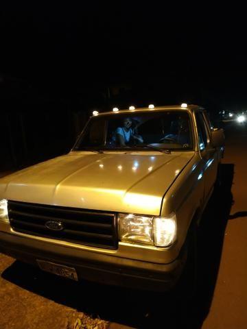 F1000 estendida p/6 pessoas diesel com ar, vidro trava alarme direção hidráulica. - Foto 6
