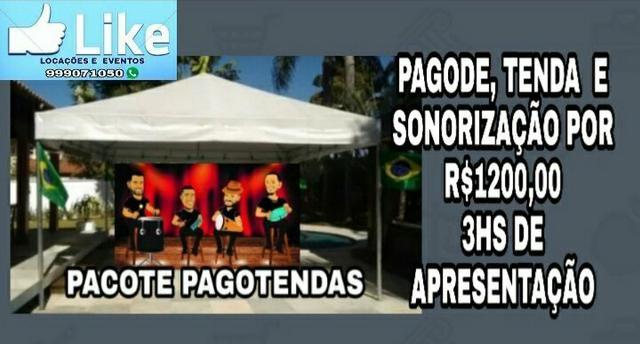 Locação de tendas/ promoção, diárias à partir de r$100,00 - Foto 6