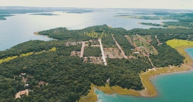 Lançamento todo pavimentado e com area de lazer.a beira do lago corumbá 4 - Foto 5