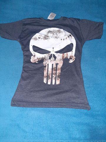 Camisas Originais MMA_ JIU JITSU_ MUAYTHAI_UFC _ PRETORIAN_ VENUM_ JUSTICEIRO_ BLACK SKULL - Foto 2