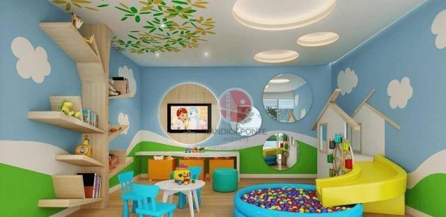 Apartamento com 3 dormitórios à venda, 79 m² por R$ 891.000,00 - Meireles - Fortaleza/CE - Foto 4