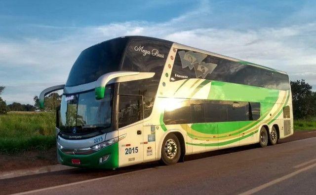 Ônibus Marcopolo 1800 Dd G7 Scania K400 6x2 Leito Turismo - Foto 2