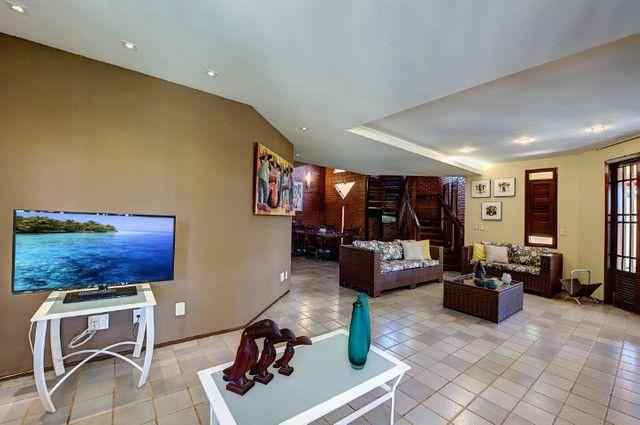 Alugo - Casa Super Luxo - 5 Suítes AR/TV - 20 Pessoas - Apenas 100m do Beach Park - Foto 9