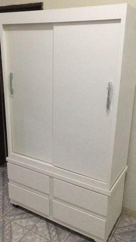 Guarda roupa corrediça 2 portas - Foto 2