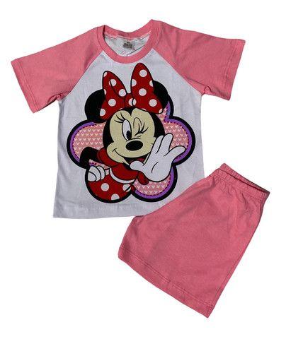 Pijama Infantil Minnie - Calor - Foto 3